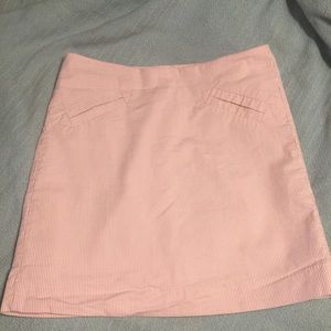 Cute seersucker skirt